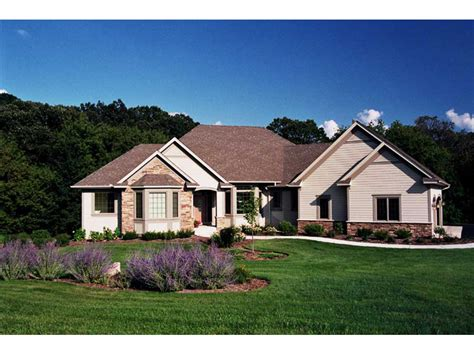 warfield traditional ranch home plan 091d 0469 house