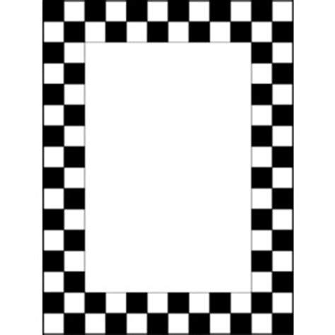 Checkered Flag Border Clipart Best Checkered Flag Printable