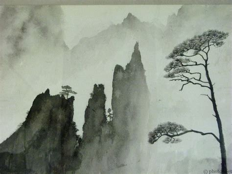 china painting 25 best ideas about mountain paintings on