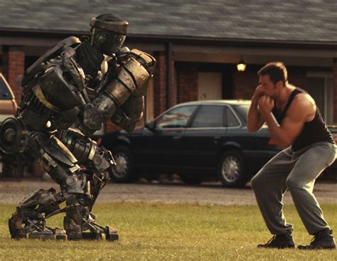 film robot avec hugh jackman movie review real steel 2011 flicks chicks