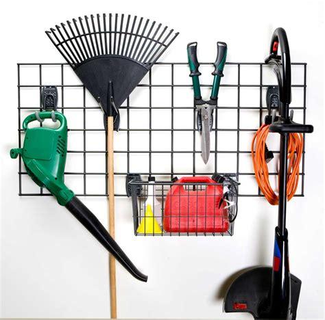 Garage Wall Organizer Grid System by Garage Grid Storage Rack Kit 1 Set Of 6 In Garage Grid