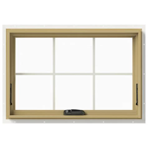 jeld wen awning windows jeld wen 36 in x 24 in w 2500 awning aluminum clad wood