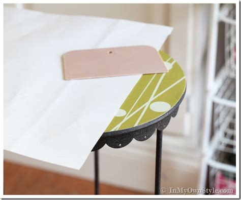 contact paper for furniture furniture makeover no paint needed in my own style