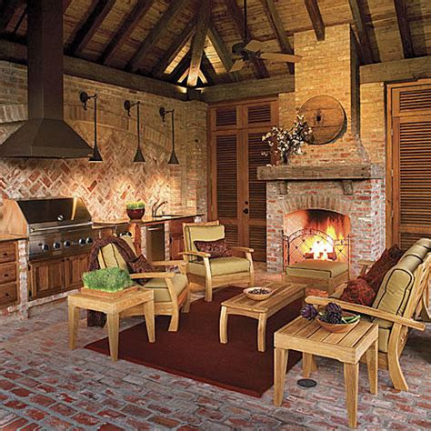 southern living fireplaces glowing outdoor fireplace ideas southern living