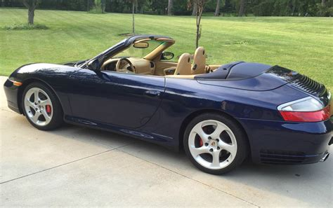 porsche convertible 2004 porsche 911 carrera 4s convertible for sale