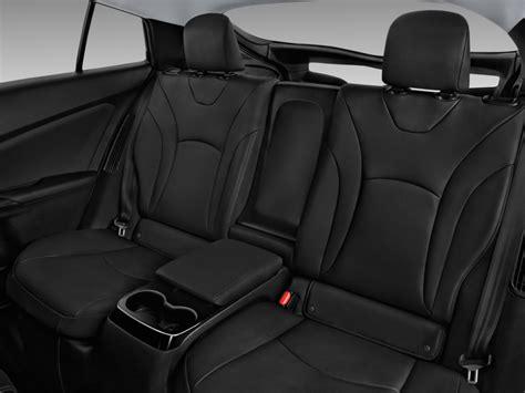 Toyota Seats Image 2017 Toyota Prius Four Natl Rear Seats Size