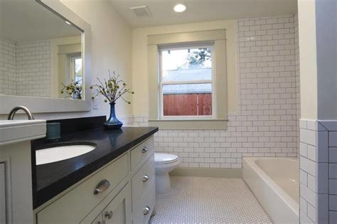 Bathroom Staging Ideas by Heights Bungalow Remodel Craftsman Bathroom Houston