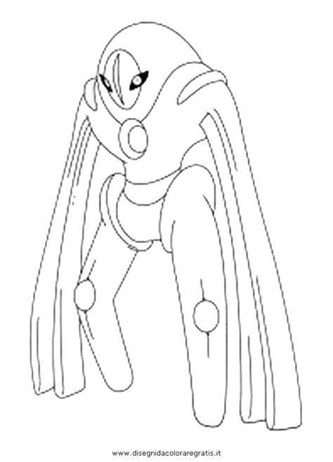 Deoxys Coloring Pages hoenn deoxys coloring pages coloring pages
