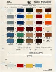 gm color auto paint codes color chips paint codes gm auto
