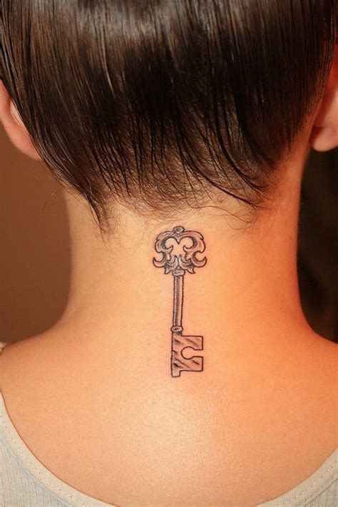 key tattoo placement 145 neck tattoos that will make a statement