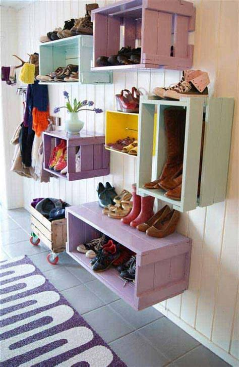 shoe box storage diy 28 clever diy shoes storage ideas that will save your time