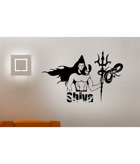 hoopoe decor the lord shiva wall stickers and wall decals