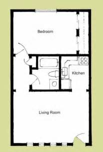 Floor Plan For 1 Bedroom House by Elliott Apartments Floorplans