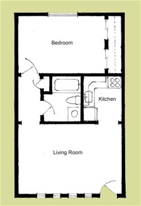 One Bedroom Floor Plans One Room Cabin Floor Plans Studio Design Gallery