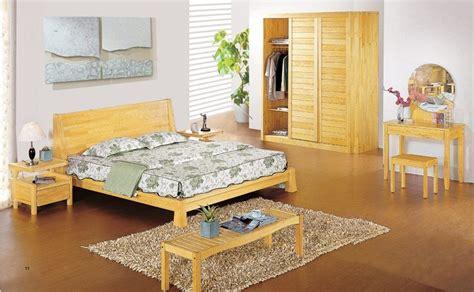 China Aesthetic Design Pine Wood Bedroom Set China Pine Wood Bedroom Furniture