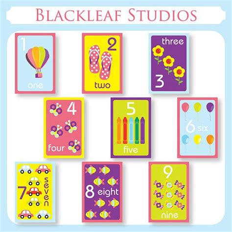 printable number flashcards for toddlers 9 best images about toddler flash cards on pinterest abc