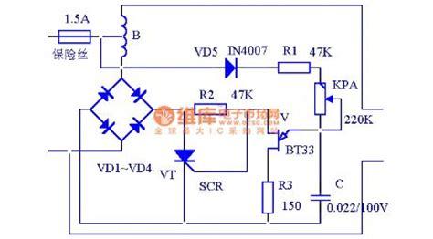 ac regulator diagram voltage regulator circuit diagram pdf
