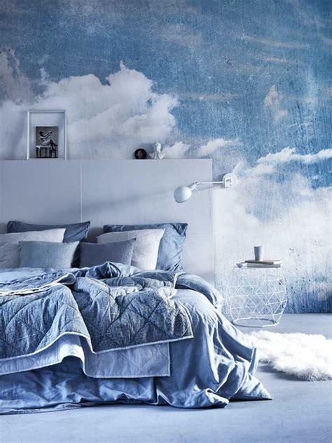 cloud wallpaper for bedroom blue bedrooms cloud wallpaper and bedrooms on pinterest