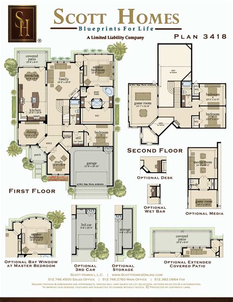 scott homes plan 2185 scott homes plan 3418