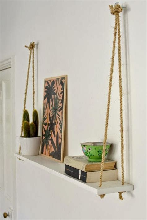 Diy Hanging Ls For Bedroom by Buy Or Diy Smart And Stylish Wall Storage To Organize