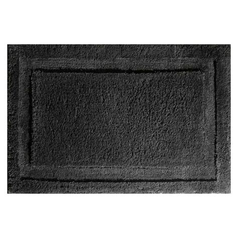 Bathroom Rugs by Microfiber Bathroom Rug Black In Bathroom Rugs
