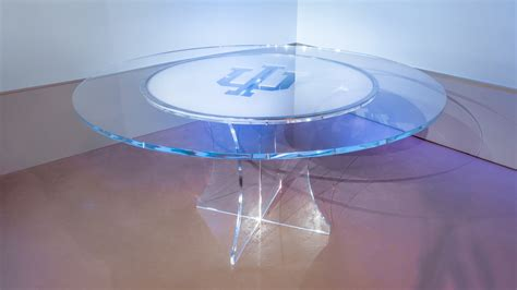 Windshield Acrylic custom news desks tv set designs