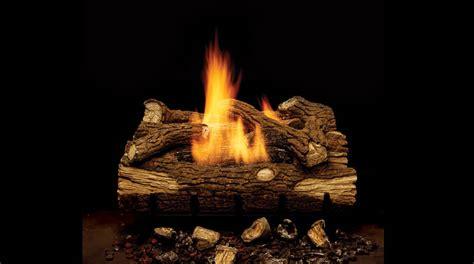 Cedar Ridge Fireplace Logs by Gas Logs From American Hearth Golden Blount And Monessen