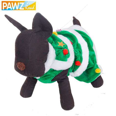 free shipping dog christmas clothes pet warm winter