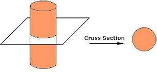 cylinder cross section how to calculate the cross section area of cylinder how