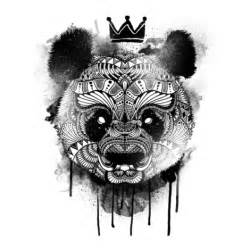 cool panda is bleeding design ideas hicustom net by