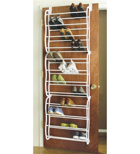 diy hanging shoe rack 20 great space saving ideas for doors shoe rack diy