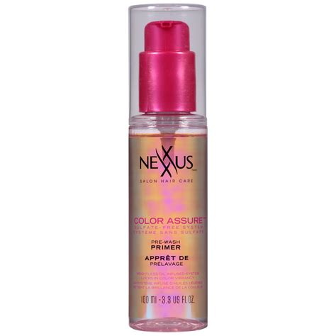nexxus color assure pre wash primer nexxus color assure pre wash primer 3 3 fl oz