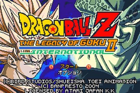 emuparadise legacy of goku dragon ball z the legacy of goku ii international j