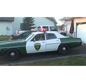 1975 Dodge Coronet Chickasaw County Sheriffs Squad Car  YouTube
