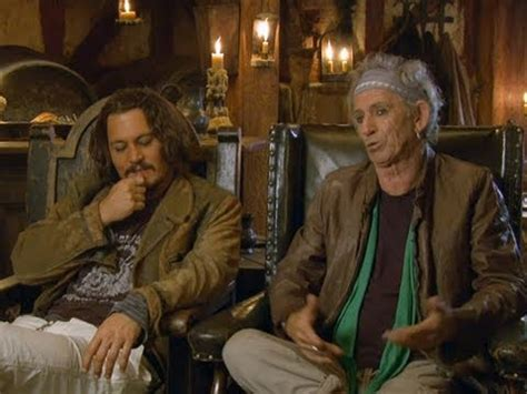 Keith Richards To Do Potc 3 by Johnny Depp Keith Richards Of The Caribbean On