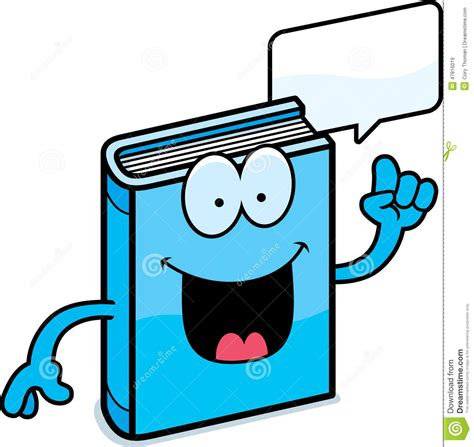 animated picture of a book book talking stock vector image 47816019