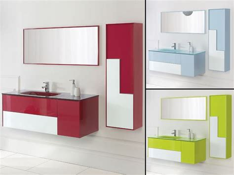 mobile bagno 120 cm mobile da bagno bcolour cm 120 con lavabo in vetro