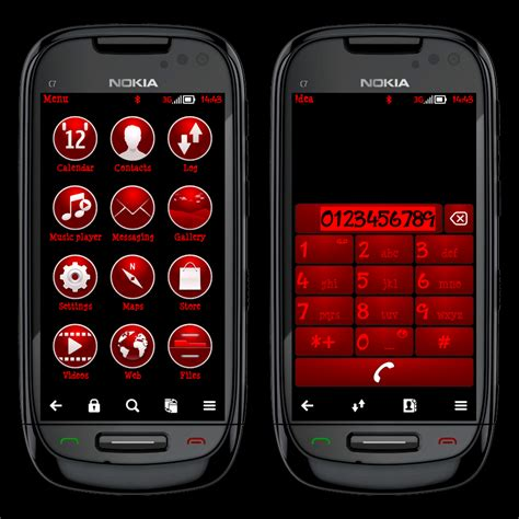 themes nokia red arjun arora themes red text black pink text black