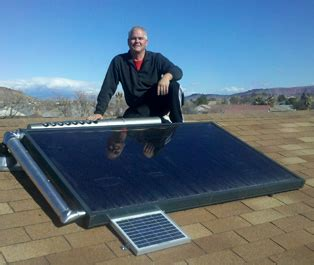 diy rooftop solar solar water heaters solar water retrofit to your current water tank