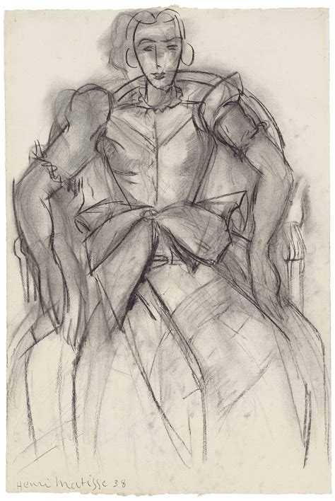 henri matisse drawings 0500093288 5 minutes with a henri matisse charcoal portrait christie s