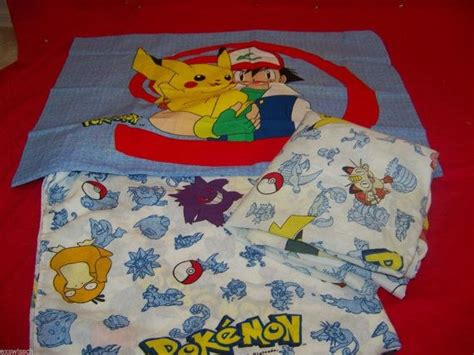pokemon bedding vintage pokemon twin bedding set flat sheet fitted sheet