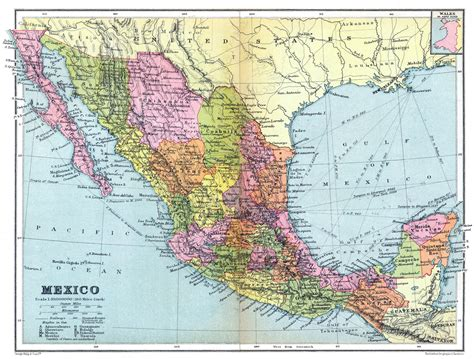 map for mexico large map of mexico mexico map