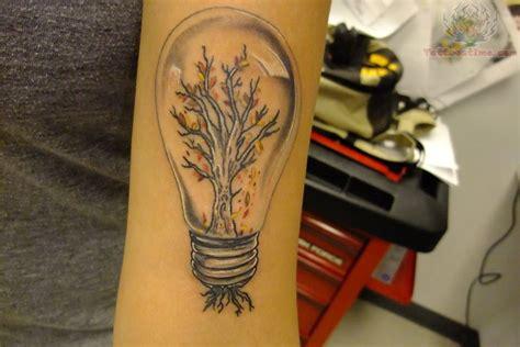 light bulb tattoo light bulb tree