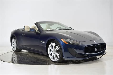maserati gt convertible 2017 maserati gt convertible sport for sale fort