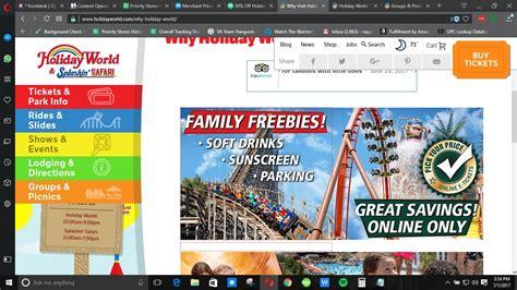 holiday world coupons 15 off holiday world coupon code holiday world 2018