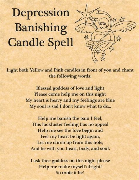 deeper into the underworld ancestors magical rites books depression banishing candle spell printable spell page