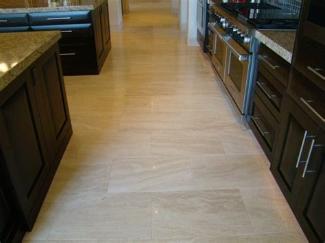 travertine kitchen floor what is travertine and how can i use it my kitchen