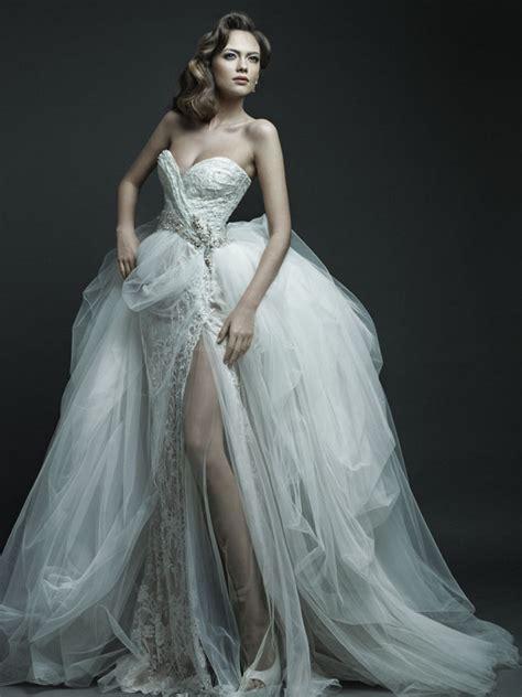 fotos de vestidos de novia sexis 2012 g 246 g 252 s dekolteli gelinlik modeli