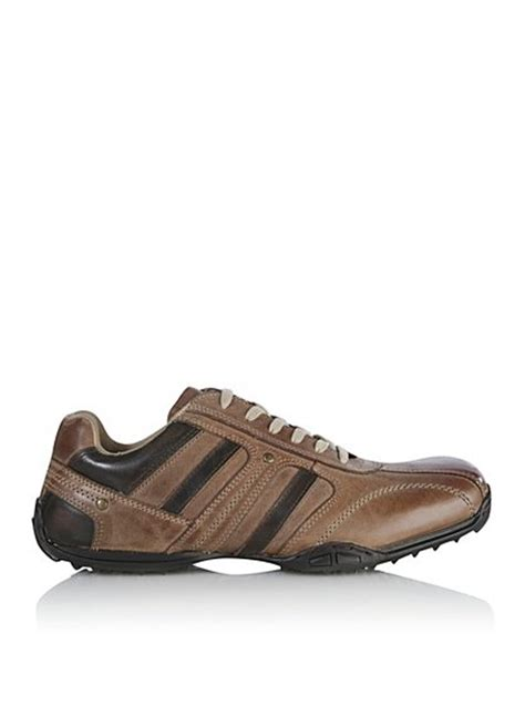 asda shoes casual leather lace up shoes george at asda
