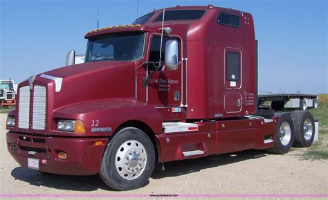 kenworth t600 1998 kenworth t600 semi truck item a4503 sold